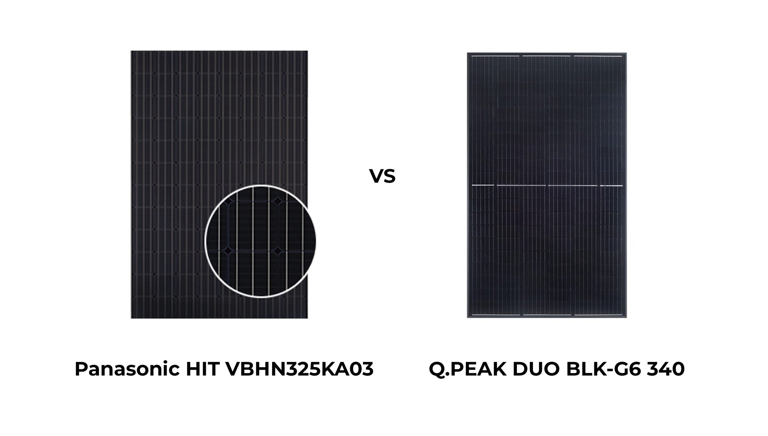 Panasonic vs Qcell