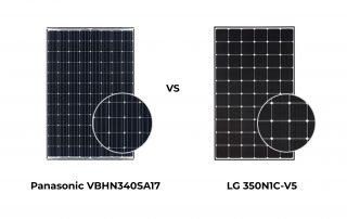 Panasonic vs LG Solar